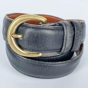 Coach / Black Classic Leather Belt 8400 Vintage